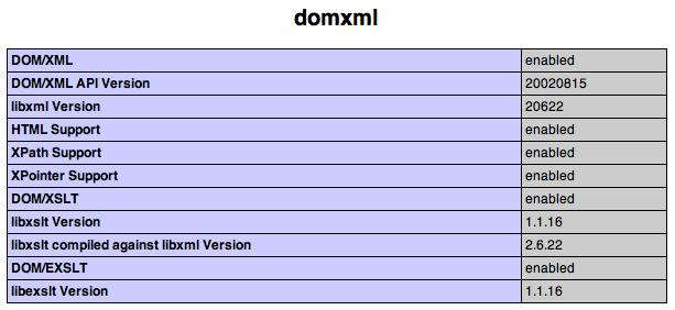 dom/xml check